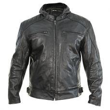Xelement 'Throttle Boss' Mens Black Leather Mot...